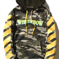 OFF WHITE WHITEWIDOW Camouflage Hoodie