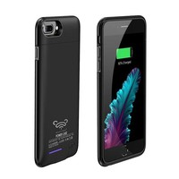 DCCKNY1 Charger Case Power Case For iPhone7 plus/ iPhone 6(S)plus 5.5' 4200Mah Battery Case, MUSTTRUE Magnet Bracket Cover Battery Case for iPhone7plus Backup Battery Power bank Charger Case