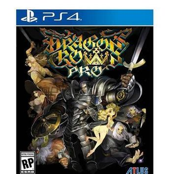 Dragons Crown Pro Standard Ps4