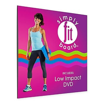 Simply Fit Board® Low Impact DVD