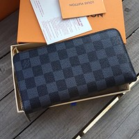 shosouvenir Louis Vuitton Clutch Bag Wristlet LV Classic Women Leather Print High Quality Wallet Purse