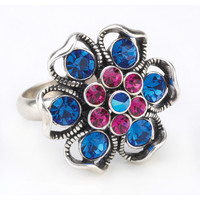 Floral Fantasy Fashion Rings