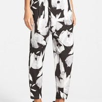 Women's C/MEO Collective 'The Other Side' Floral Print Harem Pants,