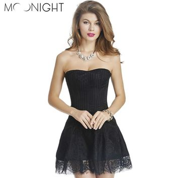 MOONIGHT Hot Sale Vintage Lace Corset Dress Sexy Corseletes Overbust Gothic Corpete Cheap Bustiers for Women no G string