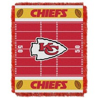 Kansas City Chiefs Baby Jacquard Throw (Chf Team)
