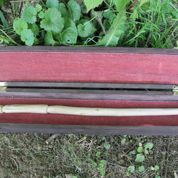 Wand Storage Chest, wooden wand box or wand storage box can be used as an altar wand box for storage of your magic wand or ritual wand