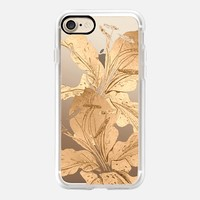 golden lilies iPhone 7 Case by Marianna | Casetify