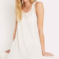 Staring at Stars Longline Textured Voop Tank - Urban Outfitters