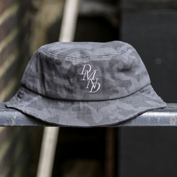 Diamond Supply Co. - Serif Bucket Hat - Black Camo