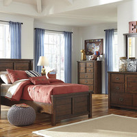 Slade Twin Size Panel Bed