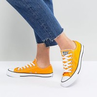 Converse Chuck Taylor All Star Ox Sneakers In Orange at asos.com
