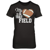 Football Mom - My Heart Is On That Field