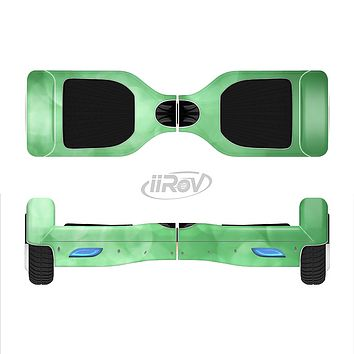 The Light Green Unfocused Orbs Full-Body Skin Set for the Smart Drifting SuperCharged iiRov HoverBoard
