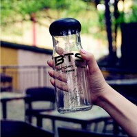 Kpop Easy-to-Carry Water Bottle