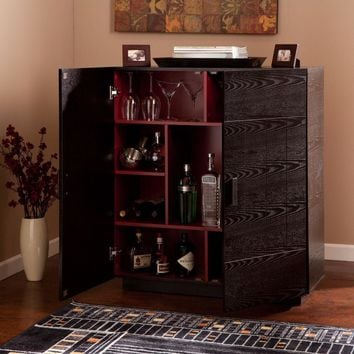 Marc Bar Cabinet-Southern Enterprises