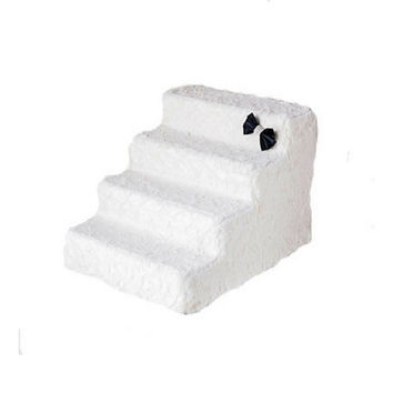 Luxury Pet Stairs — Classic Ivory