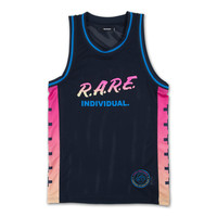 Rare Gradient Jersey in Navy – Pink+Dolphin