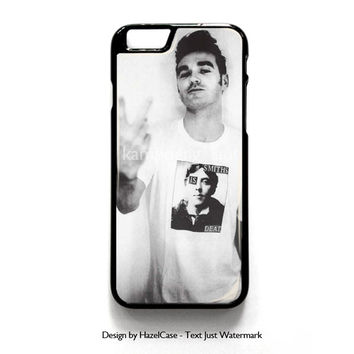 Morrissey-Finger Flip The Smiths Punk for iPhone 4 4S 5 5S 5C 6 6 Plus , iPod Touch 4 5  , Samsung Galaxy S3 S4 S5 Note 3 Note 4 , and HTC One X M7 M8 Case Cover