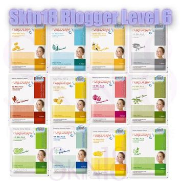 Blogger's Pack (Level 6) PUREDERM Essence Mask Sheet x 6pcs