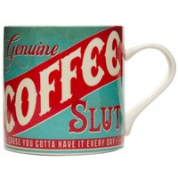 TRIXIE & MILO COFFEE SLUT COFFEE MUG - Sourpuss Clothing