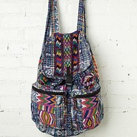 Free People Santiago Patchwork Backpack