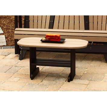 LuxCraft Recycled Plastic Coffee Table