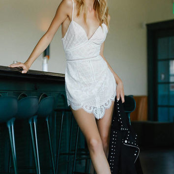In Hindsight Lace Bodycon Dress