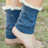 AN ADDED TOUCH BOOT CUFF IN SKY