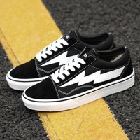 Day-First™ Trendsetter Revenge x Storm x Vans Kanye West Old Skool Canvas Flat Sneakers Sport Shoes