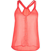 FULL TILT 3 Strap Button Womens Tank 191648313 | clothing | Tillys.com