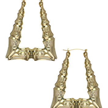 LARA BAMBOO EARRINGS