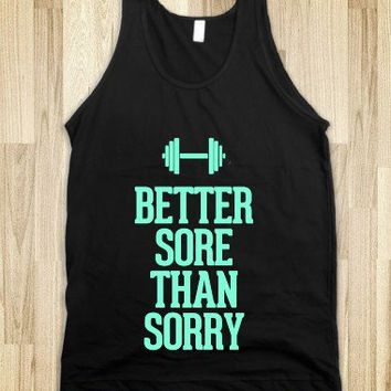 Better Sore Than Sorry Tiffany |