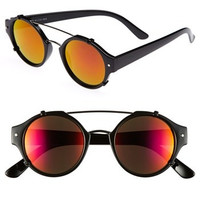 Spitfire Flick Sunglasses with Red Mirror