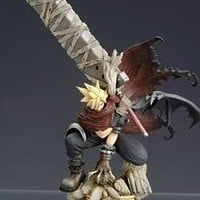 KINGDOM HEARTS FORMATION ARTS 32 CLOUD STRIFE