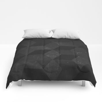 Fade to Black Comforters by DuckyB