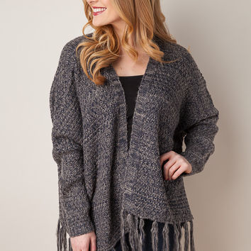 Cabin Time Grey Sweater