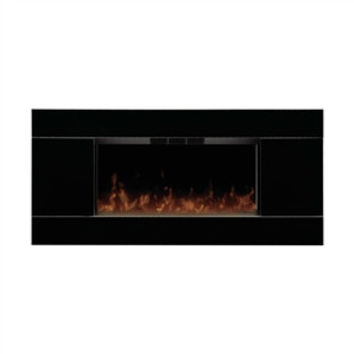 40-inch Wide Contemporary Wall Mounted Electric Fireplace