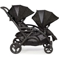 Contours Options Elite Twin Tandem Double Baby Stroller Carbon NEW Upgraded-1 Each