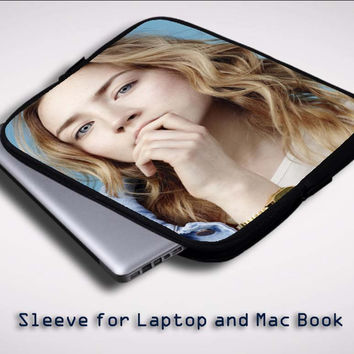 Saoirse Ronan Hot Pictures X0489 Sleeve for Laptop, Macbook Pro, Macbook Air (Twin Sides)