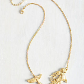 Nautical Siren Majority Necklace by ModCloth