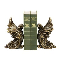 93-5527 Pair of Gothic Gargoyle Bookends