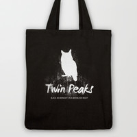 Twin Peaks no 2 Tote Bag by OurbrokenHouse
