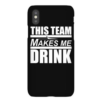 this team makes me drink iPhoneX