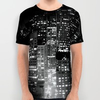 san francisco All Over Print Shirt by Marianna Tankelevich