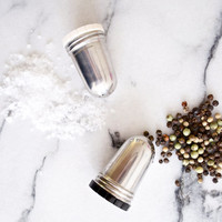 Atomic Stainless Steel Salt Pepper Shaker Set Gense Sweden