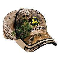 John Deere REALTREE X-TRA ® Brown Jig Saw Cap