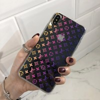 Fashion LV LOUIS VUITTON Cover Case for iPhone 8 iPhone 8 Plus iPhone X iPhone XS iPhone XS MAX iPhone XR