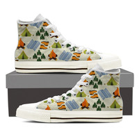 Camping Pattern Shoes