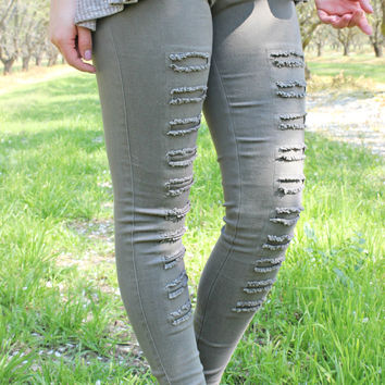 Cut to the Chase Jegging