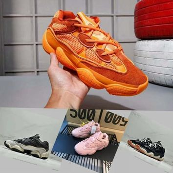 Adidas Yeezy Runner Boost 500 Blush Desert Rat Kanye West Wave Runner 500 700 350 Sneakers Running shoes designer shoes Athletic Sneaker M‮yeezy‬a with box